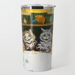 Kitty Happy Hour - Louis Wain's Cats Travel Mug