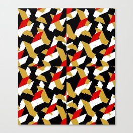 Colorful Abstract Pattern Canvas Print
