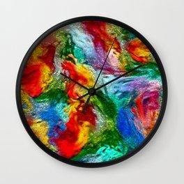 Magic Carpet Ride Abstract Wall Clock