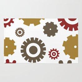 Steam Age Gears Rug