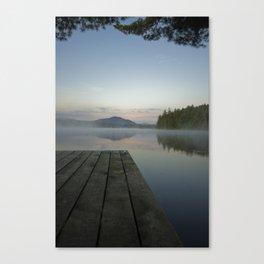 Early Morning Fog III Canvas Print