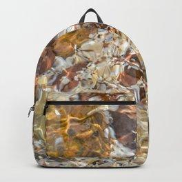 Golden Ripples by Teresa Thompson Backpack