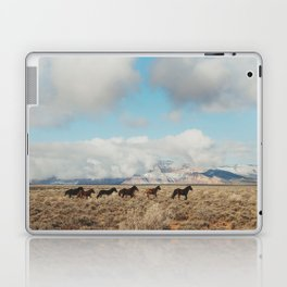 Running Reservation Horses Laptop & iPad Skin
