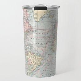 Vintage World Map (1901) Travel Mug