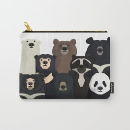 Bears of the world Carry-All Pouch