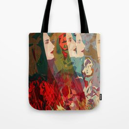 Color Inspiration Tote Bag