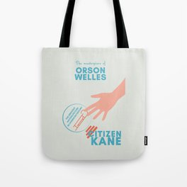 Citizen Kane, minimal movie poster, Orson Welles film, hollywood masterpiece, classic cinema Tote Bag