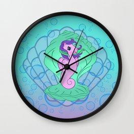 g1 my little pony sea pony Wall Clock