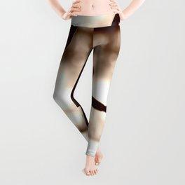 Wooden Puppet Sepia Leggings