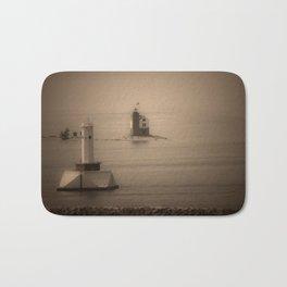 A Lighthouse & Beacon Bath Mat