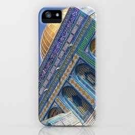 The Dome of the Rock iPhone Case