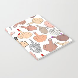 Middle Fingers Notebook