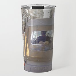 car in Lisbon Travel Mug