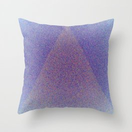 A Blue Point Throw Pillow