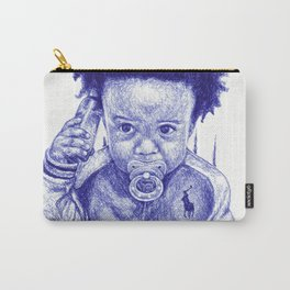 Afro Kid Carry-All Pouch