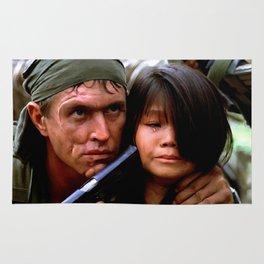 Tom Berenger in the film Platoon (2) - Oliver Stone 1986 Rug