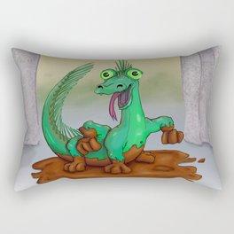 Monster of the Week: Basilisk Rectangular Pillow