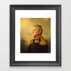 Bill Murray - replaceface Framed Art Print