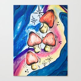 Magic Mushrooms Canvas Print