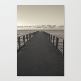Pier to Horizon Canvas Print
