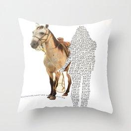 Want Me Throw Pillow