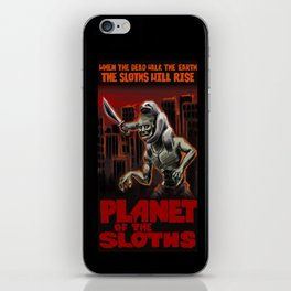 Planet Of The Sloths iPhone Skin