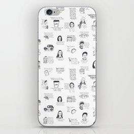 Gilmore Girls quotes iPhone Skin