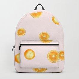 Orange watercolor Backpack