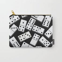 Black and white domino seamless pattern Carry-All Pouch