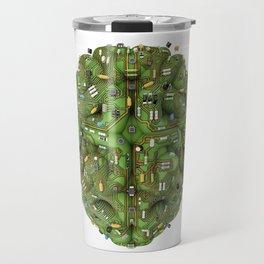 Circuit brain Travel Mug