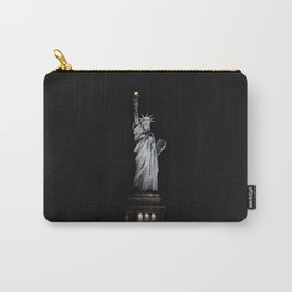 Statue of Liberty at Night Carry-All Pouch