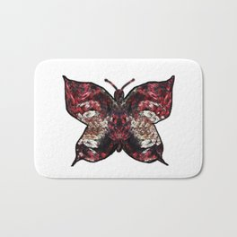 Butterfly fractal Bath Mat