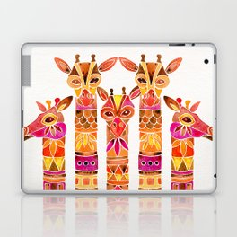 Giraffes – Fiery Palette Laptop & iPad Skin