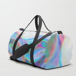 Iridescence 2 - Rainbow Abstract Duffle Bag