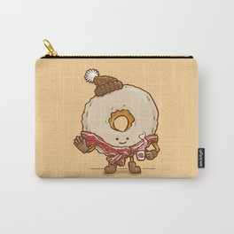 Bacon Scarf Maple Donut Carry-All Pouch