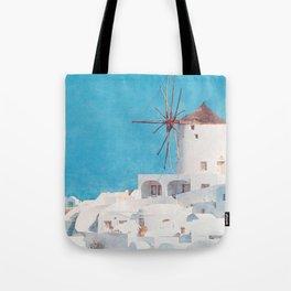 Mediterranean journey-Santorini Tote Bag