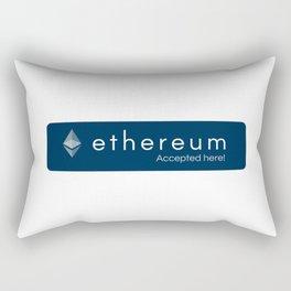 Accepted here: Ethereum Rectangular Pillow