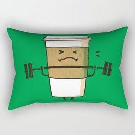 Strong Coffee Rectangular Pillow