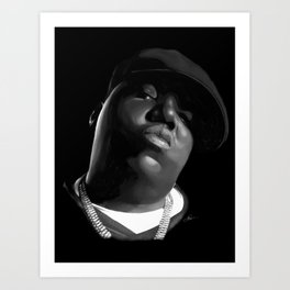 Notorious B.I.G. Art Print
