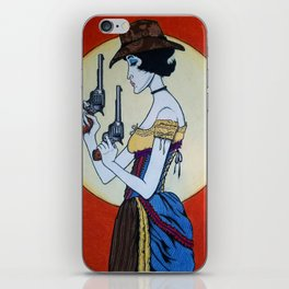 Wanted - Hesper Fleet - Outlaw iPhone Skin