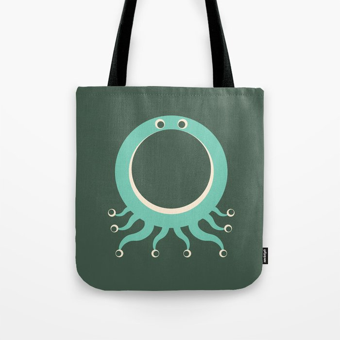 Letter O // Animal Alphabet // Octopus Tote Bag