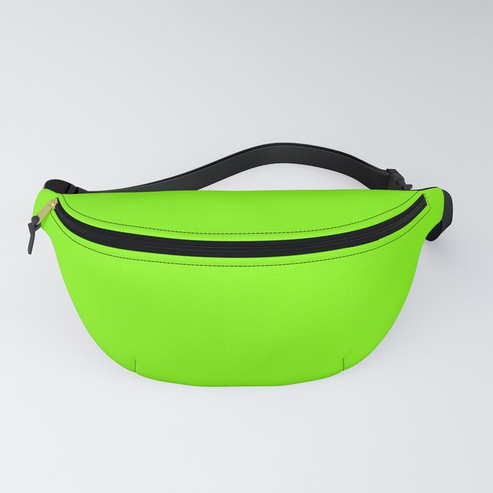 color chartreuse Fanny Pack