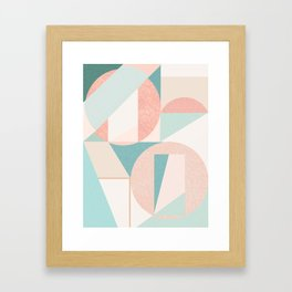 Abstract art composition Framed Art Print
