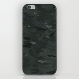 Camouflage: Black iPhone Skin