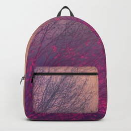 Pink Purple Autumn Dusk Backpack