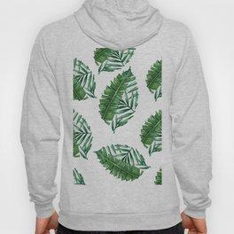 leaf print Hoody