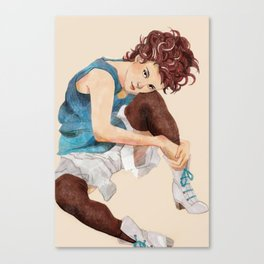 Egon Schiele Sitting Woman Canvas Print