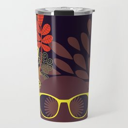 Afro Diva : Sophisticated Lady Deep Travel Mug