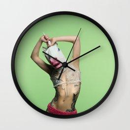 RainbW #4 Wall Clock