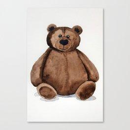 Chubster the Teddy Canvas Print